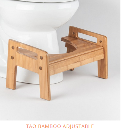 Tao Bamboo Adjustable Squatty Potty