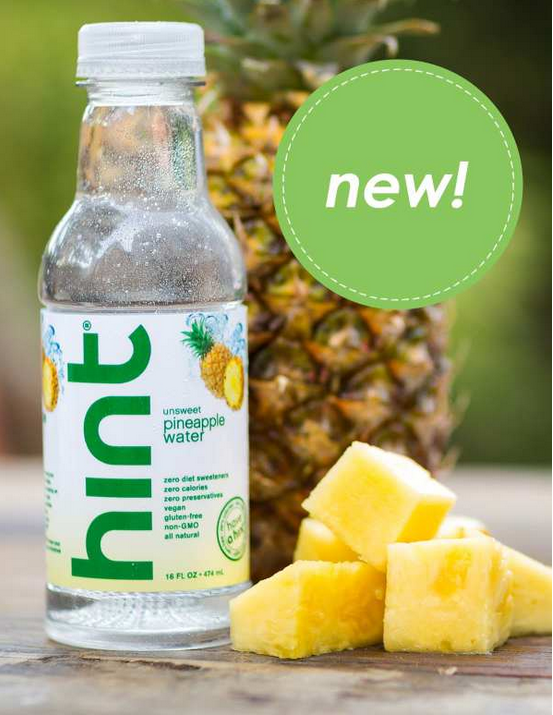 Hint Water pineapple