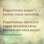 Challenge #2 :  Forgive
