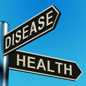 disease health street sign
