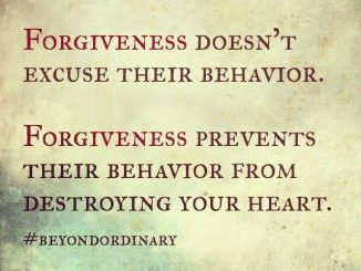 forgive and forgiveness