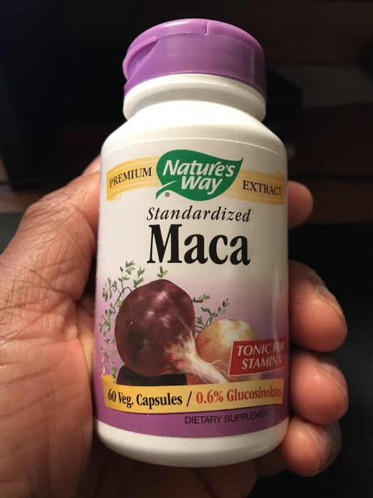 Nature's Way Maca Root Capsules http://golivepure