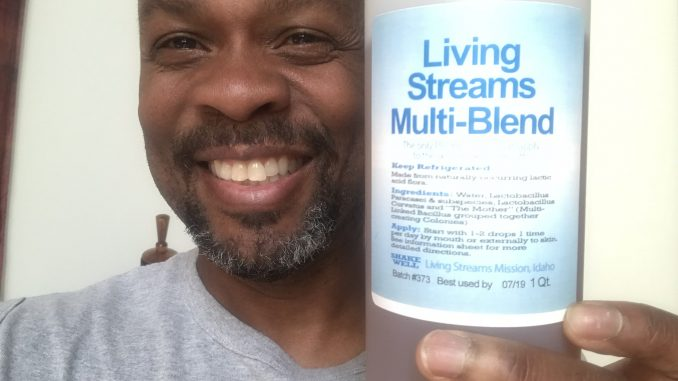 Living Streams Multi Blend Liquid Probiotic 32 oz Bottle w/ Allen Williams