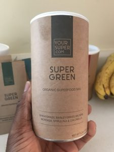 Your Super Super Green Superfood mix  #yoursuperfoods #yoursuper