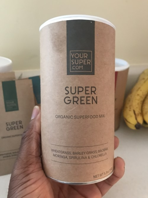 Super Green - YourSuper.com  Green Super food powder mix