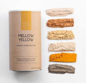 Mellow Yellow Yoursuper.com Turmeric mix