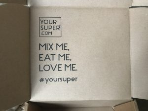 Your Super Immunity Bundle open box inside the lid